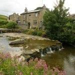 Una frazione di Hawes in nord Yorkshire