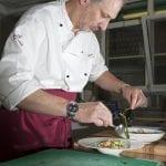Stefano Scalco chef del ristorante Belvedere a Sequal Pn