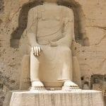 189 Il Budda di 26 metri nelle cave-tempio di Bing Ling sito Unesco