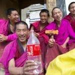 Giovani monaci tibetani a Labrang