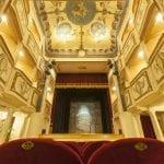 Monte Castello di Vibio Pg il piccolo Teatro della Concordia