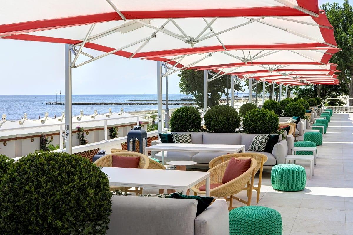 La Terrazza Tropicana all'Hotel Excelsior Lido di Venezia
