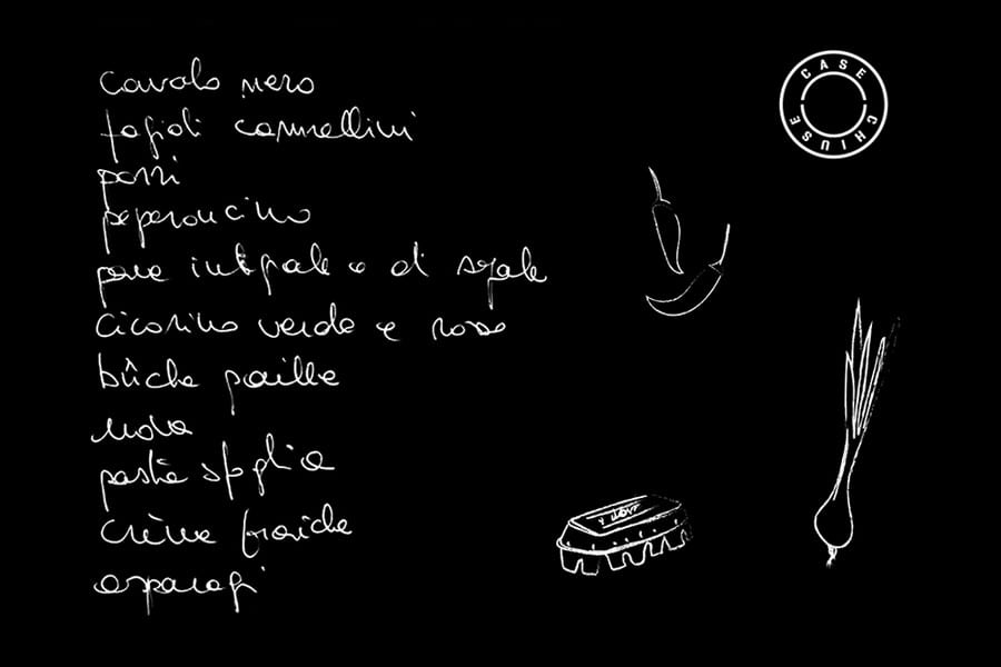Lista spesa di Paola Clerico - Illustrazione di Erica Pizzetti