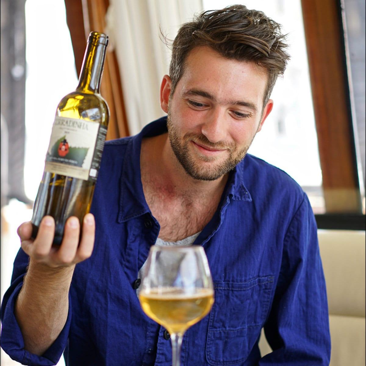 Luca Pronzato. Fondatore di Ona temporary restaurant
