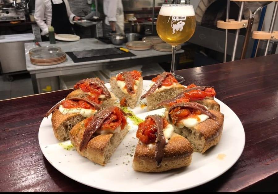 Pasta  Madre a Bruxelles. La pizza di Francesco Oppido e la birra di Moeder Lambic per un progetto che parla italiano