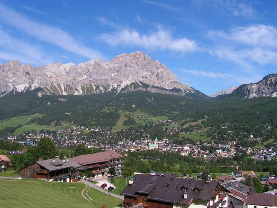 Mangiare in montagna: Cortina d'Ampezzo, la regina delle Dolomiti