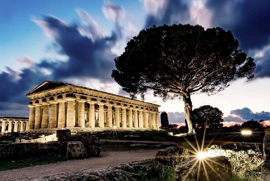 A cena tra i templi di Paestum, con Massimo Bottura, Franco Pepe &Co. L'idea di LSDM per finanziare gli scavi