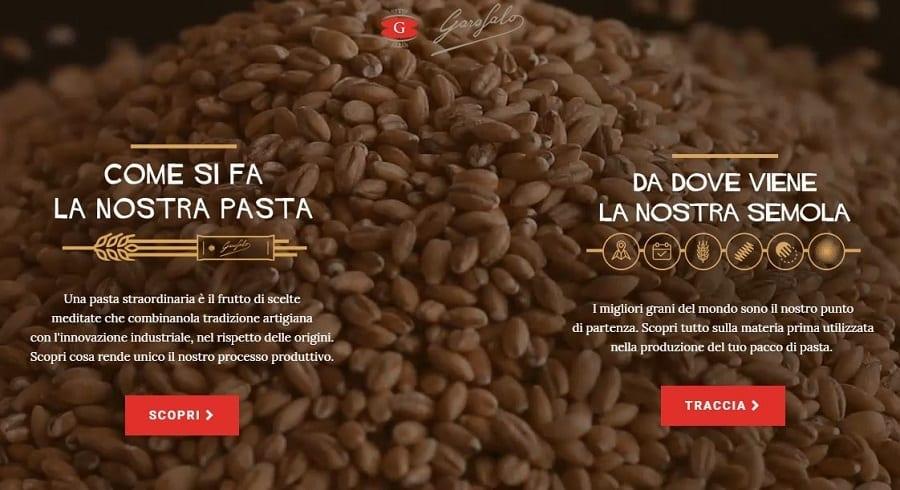 Garofalo, operazione trasparenza. Un sito per spiegare come si fa la pasta e da dove viene il grano