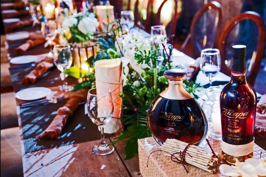 I Rum Zacapa in abbinamento