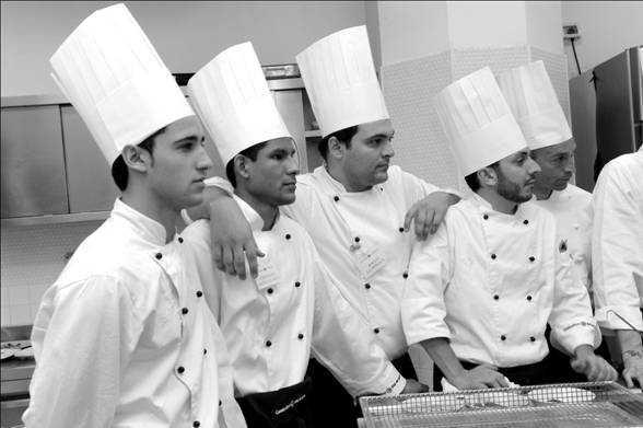 Costanza, mente, cuore , mani e .. Professione Cuoco!