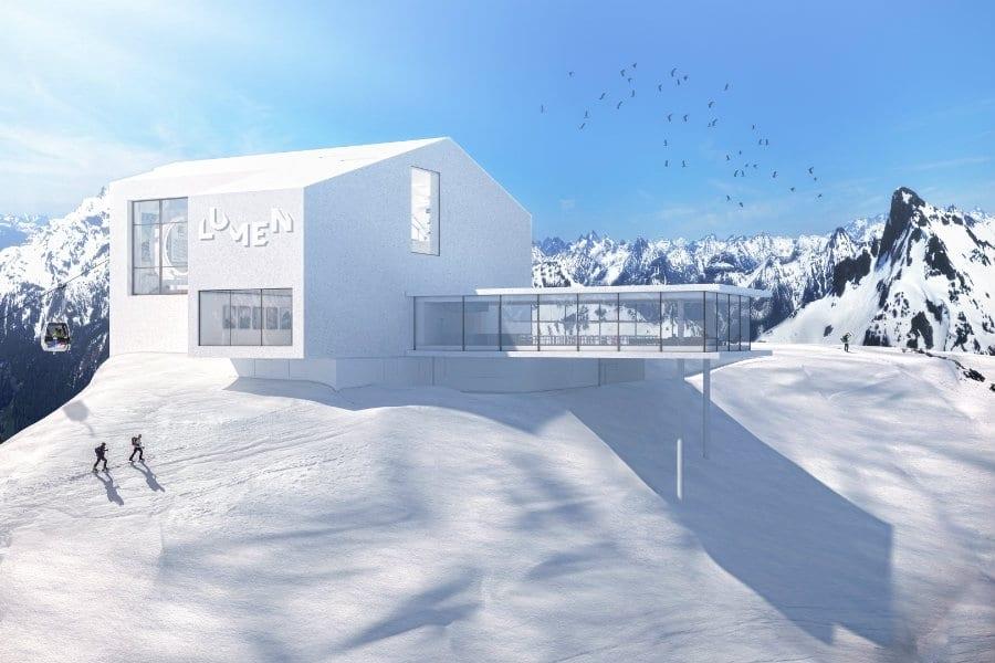 Lumen e il rifugio Alpinn. Il nuovo progetto di Norbert Niederkofler e Paolo Ferretti