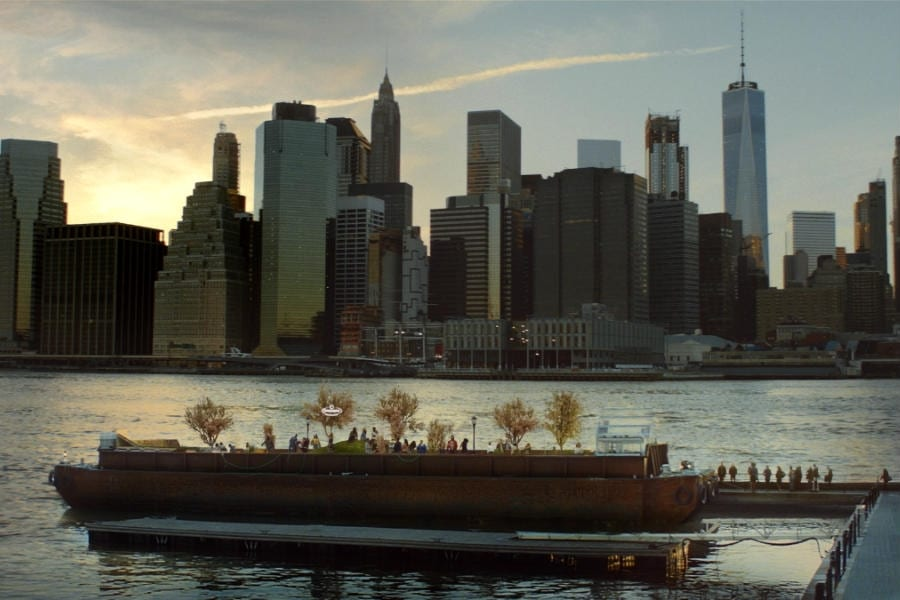 Swale, la Floating Food Forest sostenibile nelle acque di New York