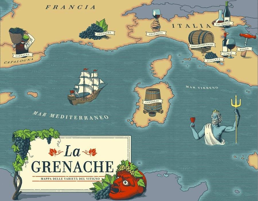 Cannonau o Grenache. Un vitigno, mille nomi