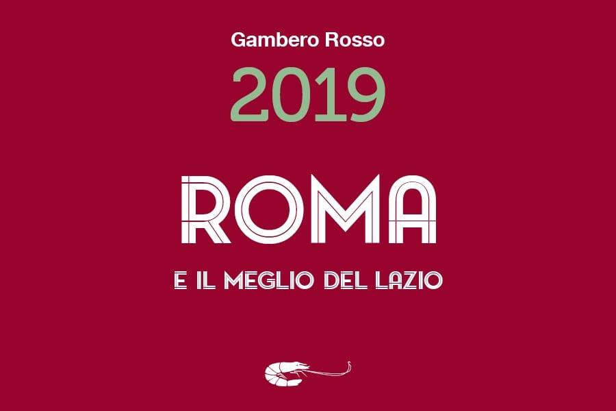 Guida Roma 2019 del Gambero Rosso. Tutti i premi