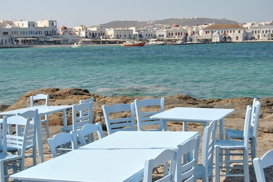 Guida per mangiare bene alle Isole Cicladi. Santorini, Mykonos e Paros