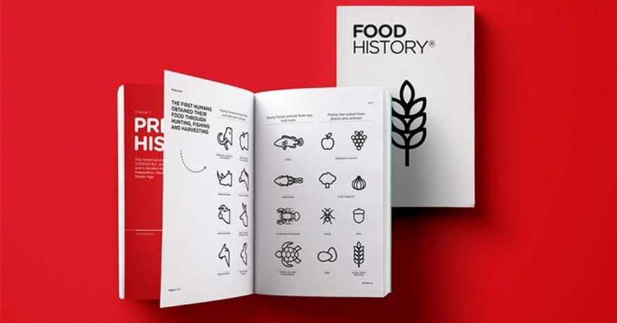 Food History. Raccontare la storia del cibo per immagini: il libro fatto solo di icone