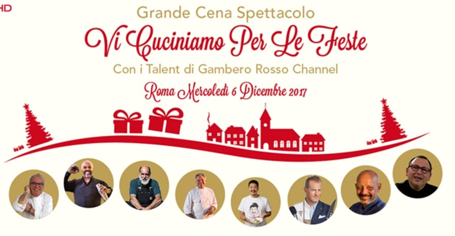 Vi cuciniamo per le Feste. Allo Sheraton di Roma i beniamini di Gambero Rosso Channel