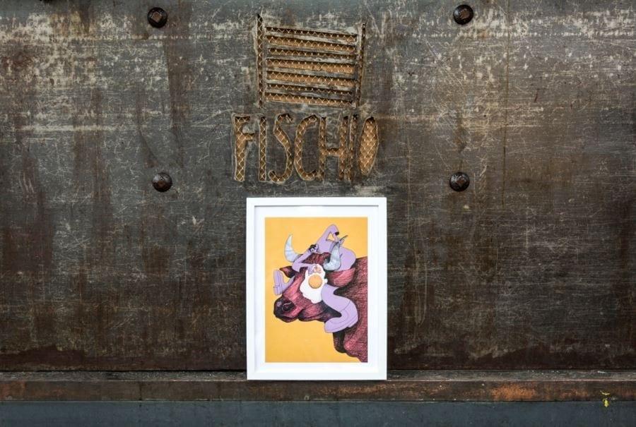 Slurp. I poster d'autore a tema food