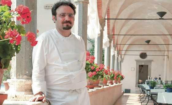 Il nuovo Paolo Lopriore. I primissimi piatti alla riapertura de Il Canto di Siena. Ecco le foto