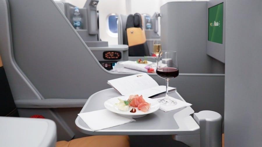 Best Airline Cuisine 2017 ad Alitalia. In classe Magnifica il menu di bordo più buono del mondo