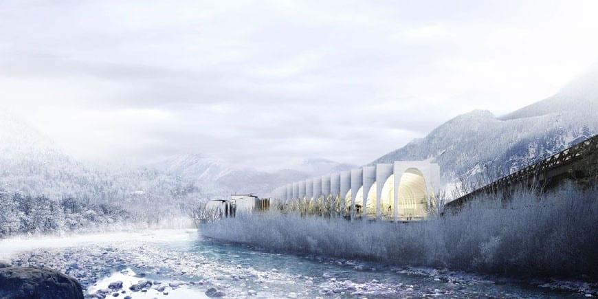 La nuova San Pellegrino Factory in Val Brembana. 90 milioni di euro e l'archistar per valorizzare l'acqua italiana