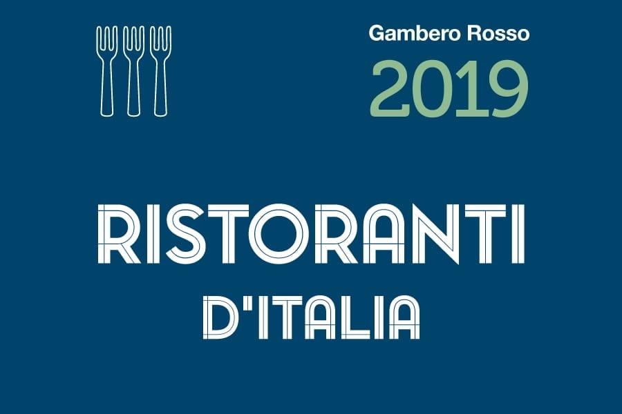 Ristoranti d'Italia 2019 del Gambero Rosso. Premi e classifiche