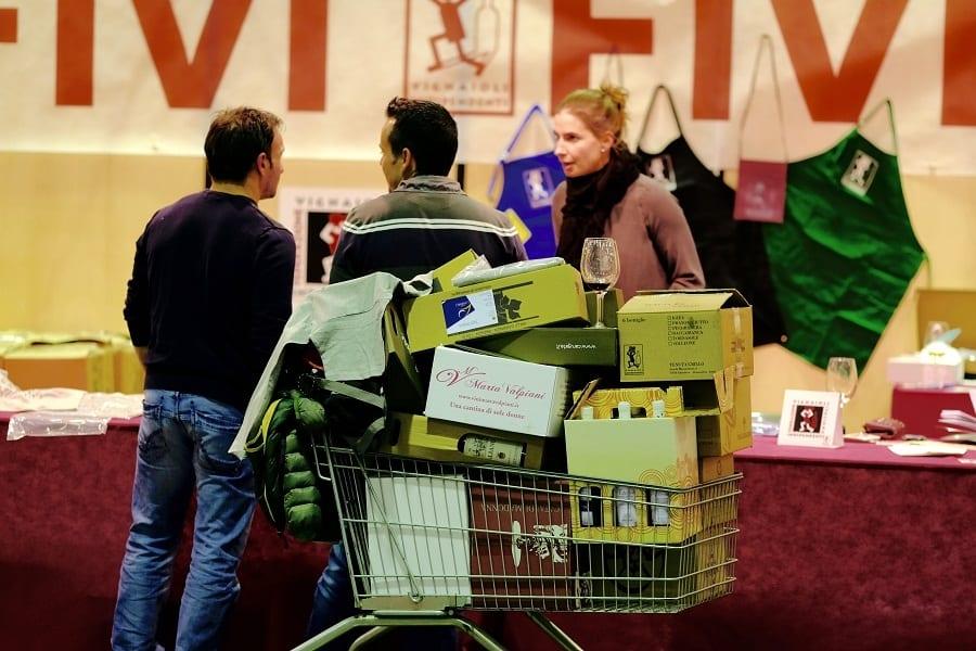 Piacenza e i vignaioli indipendenti: mostra-mercato da record