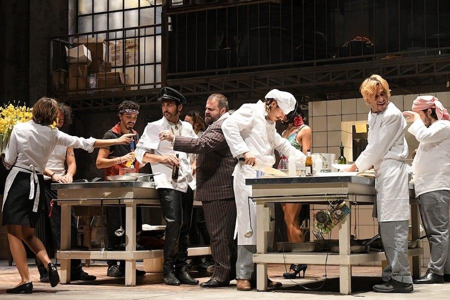 Se il mondo del teatro s'ispira al ristorante: La cucina di Valerio Binasco e Cantina di Laika