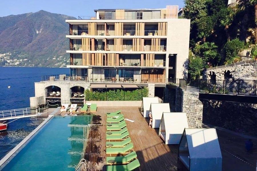 Ristorazione d'autore in hotel. Berton Al Lago sul Lario, Bartolini a Venezia con Glam