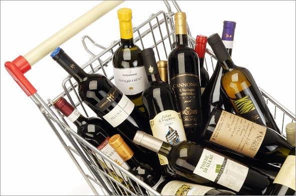 Vino al supermercato? 2012 annus horribilis: -3,6% le vendite