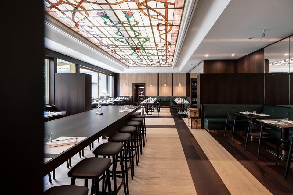 Tree Brasserie di chef Claudio Melis, la sala liberty