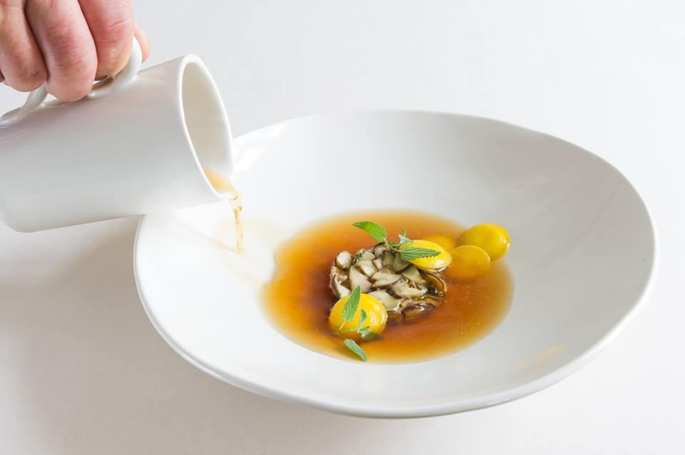 Un piatto di pasta ripiena dello chef Claudio Melis
