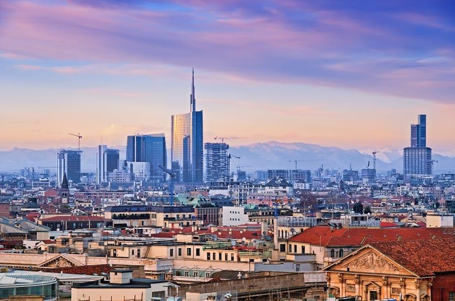 Lo skyline di Milano