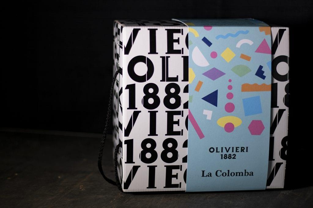 la scatola della colomba di Olivieri