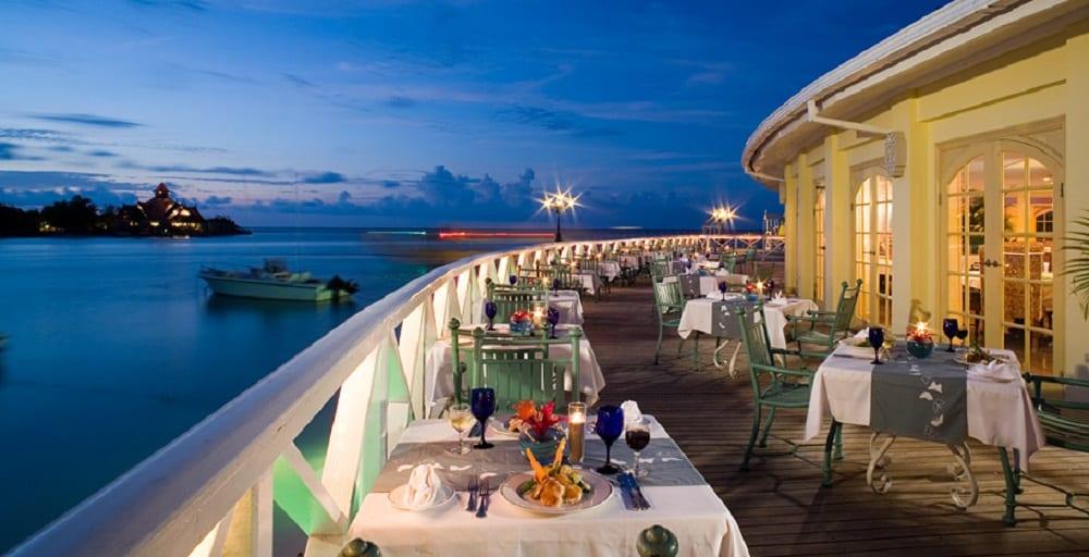 Sandals hotels. All inclusive e cucine del mondo