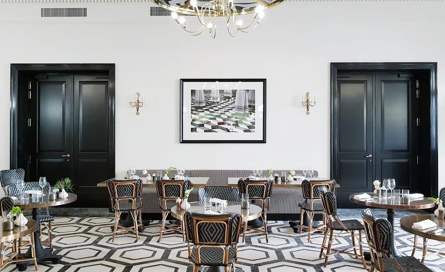 La sala del ristorante Mosaico